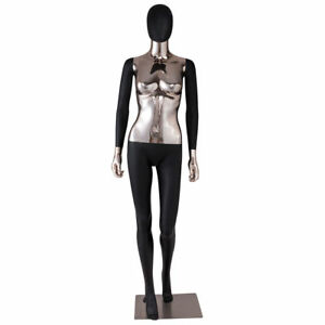 Female Mannequin Full Body Realistic Display Head Turn Dress Form W Base