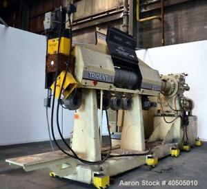 Used Pti Processing Technologies 6 Trident Series Single Screw Extruder Model