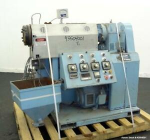 Used Killion 1 5 Single Screw Extruder Model Kn 150 Approximate 24 To 1 L d