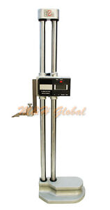 18 Double Column Electronic Height Gage Gauge 450mm Dual Beam Height Gage