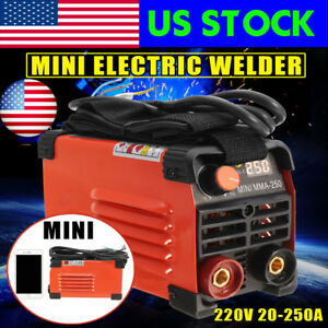 Usa 20 250a Electric Welder Handheld Mini Inverter Arc Welding Machine Tool
