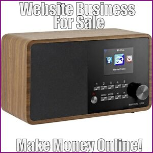 Fully Stocked Internet Radios Website Business free Domain free Hosting traffic