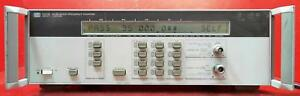 Hp Agilent 5350b 001 Microwave Frequency Counter 10hz To 20ghz Sn 3049a04200