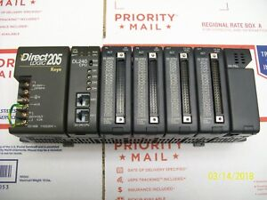 Direct Logic 205 Koyo D2 06b Dl240 Cpu 2 D2 32nd3 2 D2 32td1