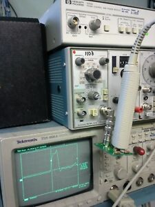 Differential Oscilloscope Probe 200 Mhz Tested Hp 1141a