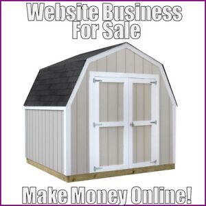 Outdoor Sheds Website Earn 451 41 A Sale free Domain free Hosting free Traffic