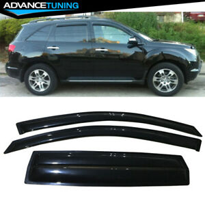 Fits 07 09 Acura Mdx Acrylic Window Visors 4pc