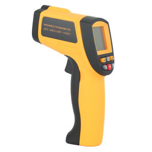 Non contact Ir Infrared Laser Digital Temperature Thermometer Gun 50 To 950 mx