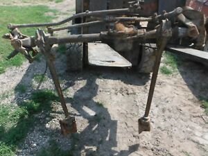 Ford F100 Dana 44 Front Axle Assembly Jeep Swap Weld On Mounts Will Ship