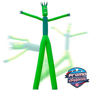 Inflatable 2 Dual Leg Dancer Tube Guy 26 Tall Green blowers Not Included