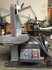 Used Dremel BeltDisk Finishing Sander Model 1731