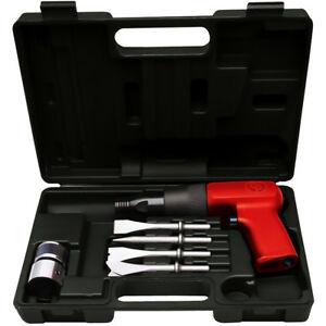 Chicago Pneumatic Cp7110k Heavy Duty Air Hammer Kit With Chisels Free Shipping