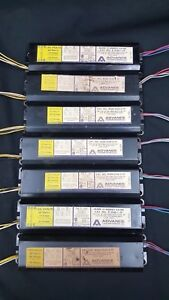 7 Mark Iii Energy Saver Magnetic Ballasts 120 Volts 60 Hertz R2s401tp Set Of 7