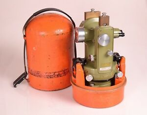 Excellent Wild T1 Theodolite Heerbrugg Switzerland S n 206781 Free Shipping