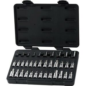 Gearwrench 80726 36 Piece Master Torx And Hex Bit Socket Set With Free Shipping