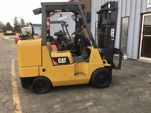 Caterpillar Gc45kswb Cushion 10 000lb Forklift Lifttruck