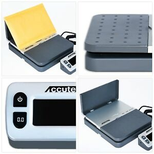 Digital Shipping Postal Scale Parcel Batteries Usb Cable Ac Adapter Gray Weigh