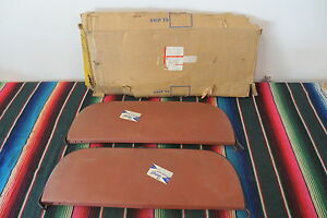 Nos Foxcraft 1953 1954 Chevrolet Chevy Belair Steel Fender Skirts 2 Right Side