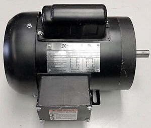 Electric Motor 1 2 hp 1800 rpm 56 frame 1 Single phase 5 8 Keyed
