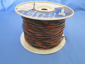 18 Gauge Mtw tew Stranded Copper Wire Brown Orange Stripe Partial Roll 400 450