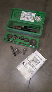 Greenlee 7904sb 7806sb 7804sb Quick Draw 90 Hydraulic Punch Driver And Kit