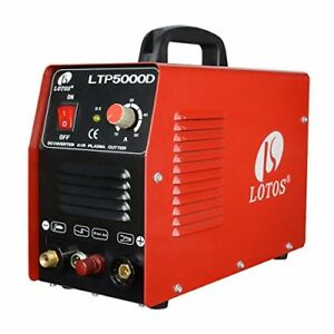 Lotos Ltp5000d 50amp Non touch Pilot Arc Plasma Cutter Dual Voltage 110v 220v