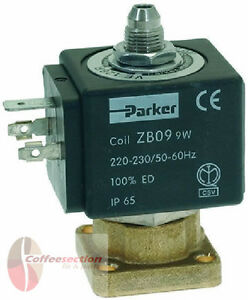 Solenoid Valve Parker Espresso Coffee Machine Gaggia Rancilio 230v 3way