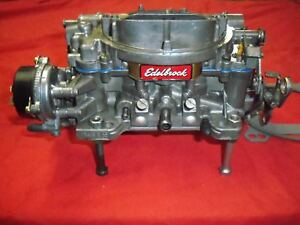 Edelbrock Preformer Carburetor 1406 Model 600 Cfm 4bbl Electric Choke