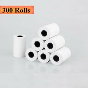 300 Rolls 2 1 4 X 50 Thermal Receipt Credit Card Paper Verifone Vx520 Ingenico