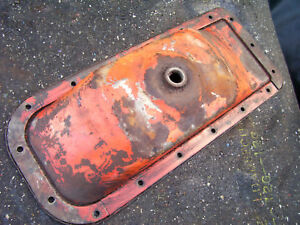 Vintage Allis Chalmers D 15 Gas Tractor engine Oil Pan