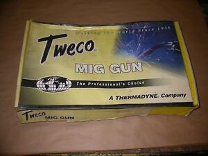 Tweco Mig Gun No 2 Tw 210 4045 10 Ft Cable 200 Amps Wire Size 04 045 Lincoln