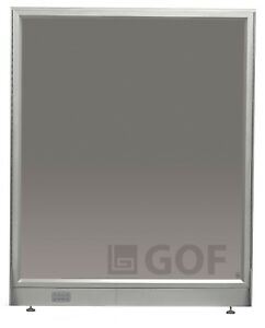 Gof Tempered Full Glass Office Partitions 30 w X 60 h room Divider local Pick Up
