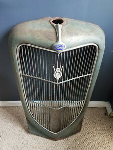 1935 36 Ford Pickup Grill Vintage Ratrod Retro Parts