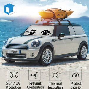 Auto Windshield Sun Shade Universal Fit Windshield Car Suv Truck Uv Protection
