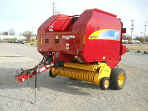 2013 New Holland Br7060 Round Balers