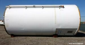 Used Columbian Tec Tank Silo 1730 Cubic Feet 12941 3 Gallon Carbon Steel V