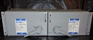 Eaton Cutler Hammer Fdpwt 3211r 30a 240vac 3hp Fusible Front Dead Switch New