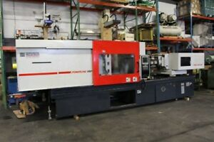 2001 Cincinnati 330 Ton Electric Plastic Injection Molding Machine