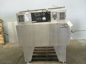 Doyon Fc2e Electric Conveyor Pizza Sub Oven Baking Jet Air Missing Conveyor