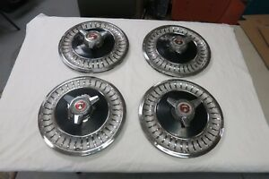 1960 s Ford Mustang falcon fairlane galaxie 13 Spinner Hubcaps