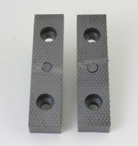Serrated Wilton 4 Bullet Vice Jaws