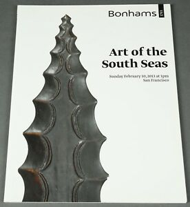 Bonhams Art Of The South Seas February 2013 Sf Hawaiian Tahiti