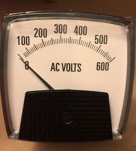 Moving Iron Ac Voltmeter Smlk312 D08 q2774