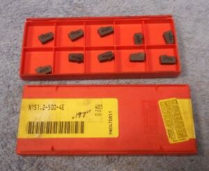 Sandvik Carbide Inserts N151 2 500 4e Grade 4025 Pack Of 10