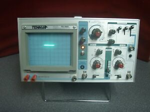 Tenma 72 320 Two Channel 35 Mhz Dual Trace Scope Oscilloscope Vintage 7697