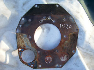 Vintage Ford 1520 D Tractor Engine Rear Plate