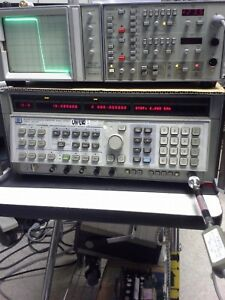 Wiltron 560a Scalar Network Analyzer Tested 10mhz To 40ghz 3 Channel