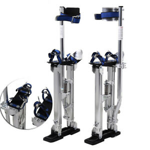 Silver 24 40 Drywall Stilts Aluminum Tool For Painting Painter Taping Durable
