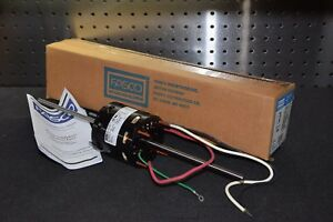 Fasco D366 1 14 1 21 2 5 1 5a 115v 1550 Rpm Double Shaft Fan Coil Motor New