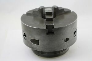 Burnerd Griptru Model 15111 8 3 jaw Lathe Chuck With A8 l1 Adapter